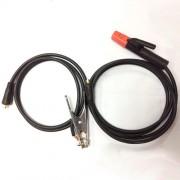 Комплект кабелей КГ-10 2+3 качеств. китайские штекеры и зажимы (200A)